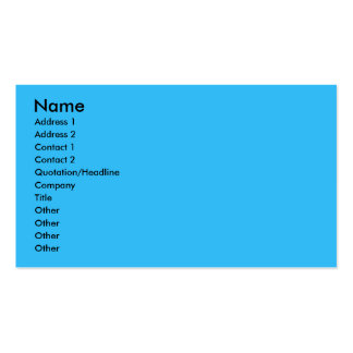 Hanukkah Star of David - Poodle Double-Sided Standard Business Cards (Pack Of 100)