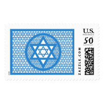 Hanukkah - Star of David Postage