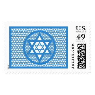 Hanukkah - Star of David Postage Stamp