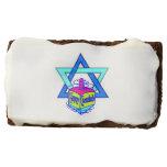 Hanukkah Star of David Rectangular Brownie