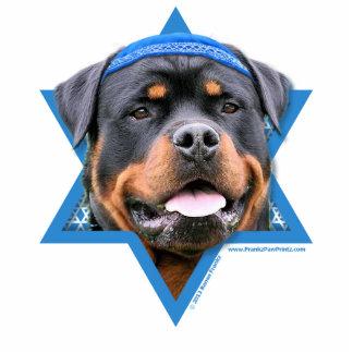 Hanukkah Star of David - Rottweiler Statuette