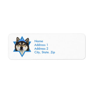 Hanukkah Star of David - Shiba Inu - Yasha Label