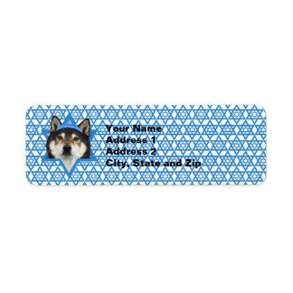 Hanukkah Star of David - Shiba Inu - Yasha Label