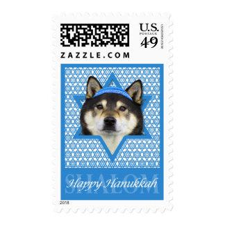 Hanukkah Star of David - Shiba Inu - Yasha Stamp