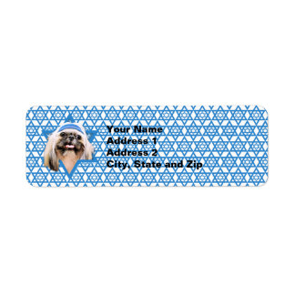 Hanukkah Star of David - Shih Tzu - Opal Label
