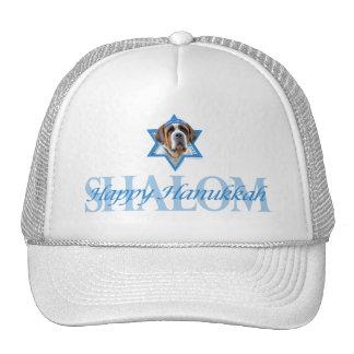 Hanukkah Star of David - St Bernard Trucker Hat