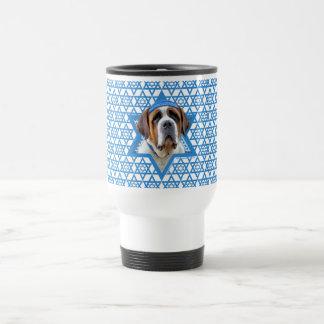 Hanukkah Star of David - St Bernard Travel Mug