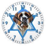 Hanukkah Star of David - St Bernard Wallclocks