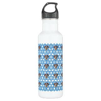 Hanukkah Star of David - St Bernard Water Bottle