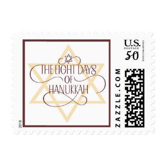 Hanukkah Star of David Stamp