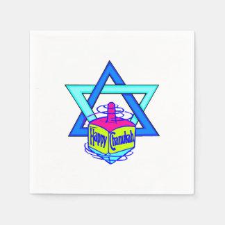 Hanukkah Star of David Standard Cocktail Napkin