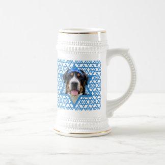 Hanukkah Star of David - Swiss Mountain Dog Coffee Mug