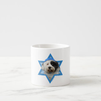 Hanukkah Star of David - Tibetan Terrier Espresso Cup