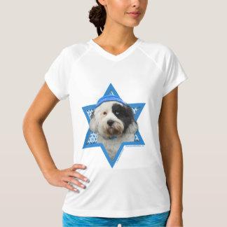 Hanukkah Star of David - Tibetan Terrier T-Shirt