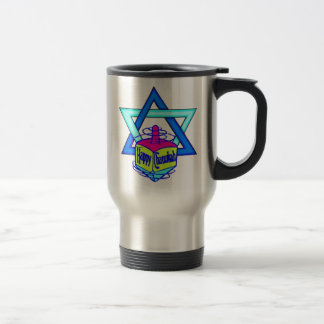 Hanukkah Star of David Travel Mug