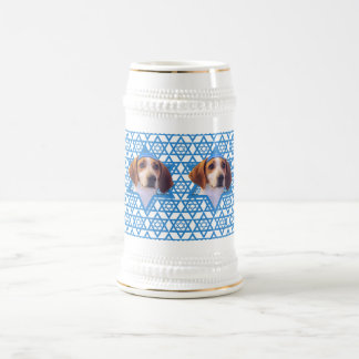 Hanukkah Star of David - Treeing Walker Coonhound Beer Stein