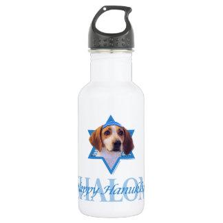 Hanukkah Star of David - Treeing Walker Coonhound Water Bottle