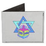 Hanukkah Star of David Tyvek® Billfold Wallet