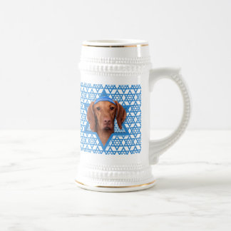 Hanukkah Star of David - Vizsla - Reagan Beer Stein