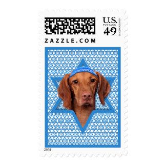 Hanukkah Star of David - Vizsla - Reagan Stamps