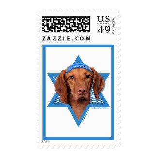 Hanukkah Star of David - Vizsla - Reagan Postage Stamps