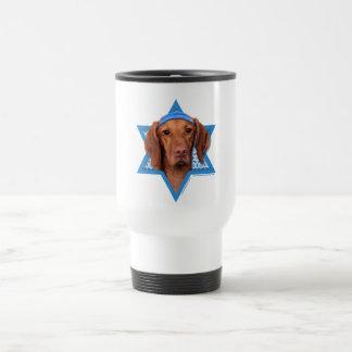 Hanukkah Star of David - Vizsla - Reagan Travel Mug