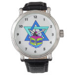 Hanukkah Star of David Watches