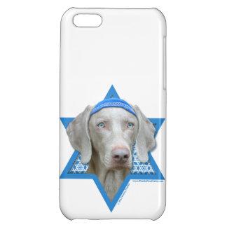 Hanukkah Star of David - Weimaraner iPhone 5C Cases