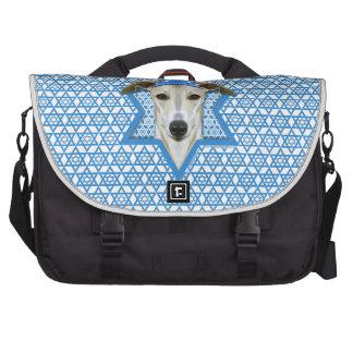 Hanukkah Star of David - Whippet Computer Bag