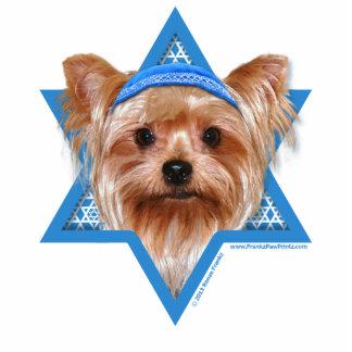 Hanukkah Star of David - Yorkshire Terrier Cutout