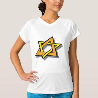Hanukkah Star Womens Active Tee
