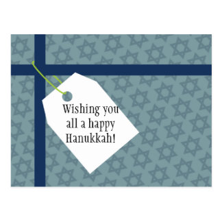 Hanukkah Stars Postcard