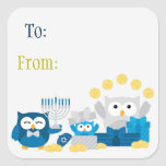 """Hanukkah Stickers To/From<br><div class=""""desc"""">These add a touch of fun and personality to any gift or card you're giving this Hanukkah to make sure the right person receives it and knows who it came from.  Artwork via © South Street Creative 