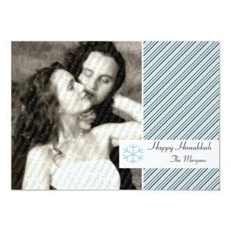 Hanukkah Stripes Card
