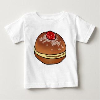Hanukkah Sufganiyah Jelly Donut Baby Item Baby T-Shirt