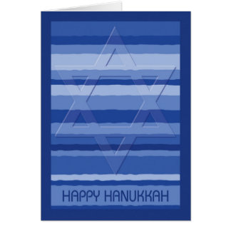 Hanukkah Tapestry with Embossed Star of David Card