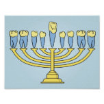 Hanukkah Teeth Poster