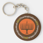 Hanukkah / Thanksgivukkah Keychain