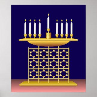 """""""Hanukkah"""" The Festival of Light Poster"""