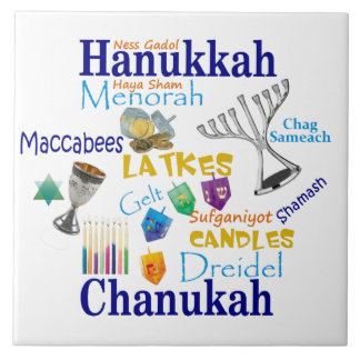 Hanukkah Tile Keepsake