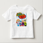 "Hanukkah Toddler T-Shirt<br><div class=""desc"">""Happy Hanukkah"" Personalized Toddler T-Shirt.  Personalize with your favorite font style,  size,  color and wording. (Zazzle can help you with text box,  if needed. Simply call them at 877-893-8935.)</div>"