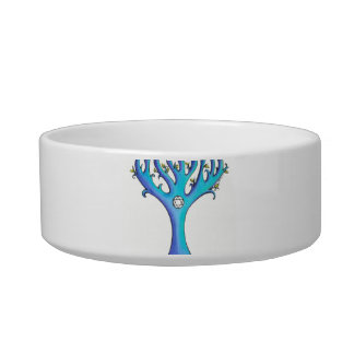 Hanukkah Tree 1 pet bowl