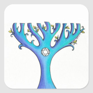 Hanukkah Tree 1 stickers