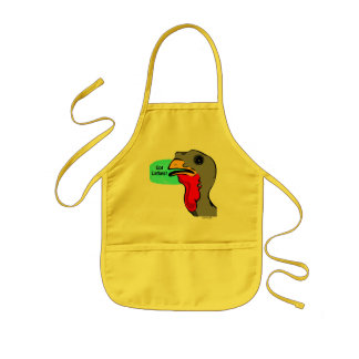 HANUKKAH TURKEY GOT LATKES GIFTS THANKSGIVUKKAH KIDS' APRON