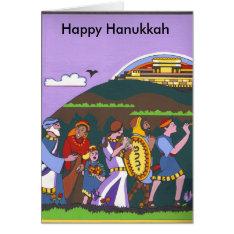 Hanukkah Victory Card at Zazzle
