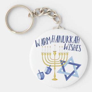 Hanukkah Wishes Keychain