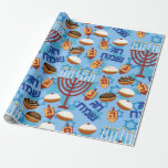 "Hanukkah Wrapping Paper Happy Holiday<br><div class=""desc"">Hanukkah Wrapping Paper Happy Holiday</div>"