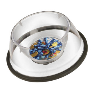 Hanukkah Pet Bowl