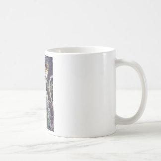 hanuman and rama cup classic white coffee mug