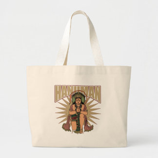 Hanuman hindú bolsa lienzo